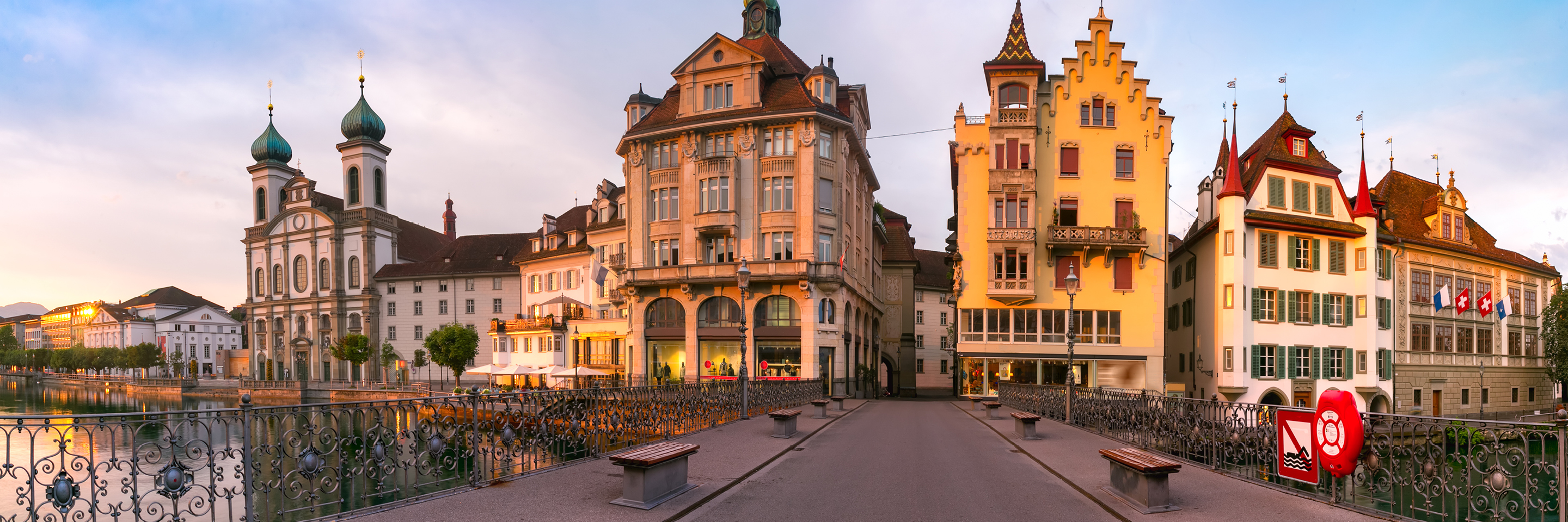 Storybook Scenery, Sarcasm & Satire   with 2 Nights in Lucerne