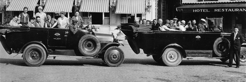 Antonio Mantegazza and his first Globus motorcoaches