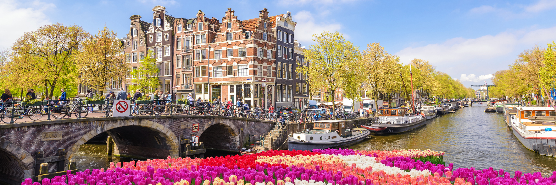 Tulip Time in Holland & Belgium with 1 Night Amsterdam
