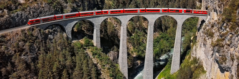 Glacier express train Switzerland Tours
