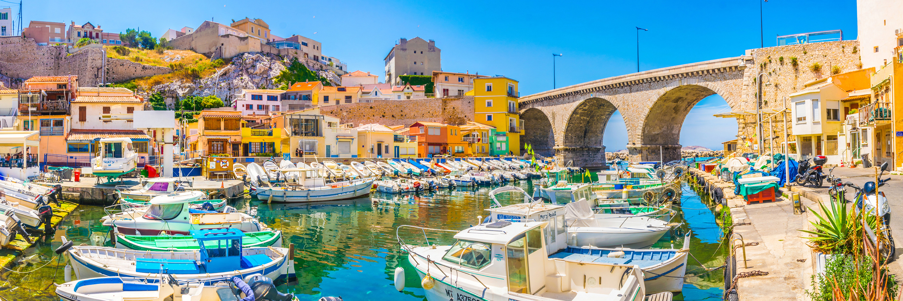 Burgundy & Provence with 1 night in Marseille