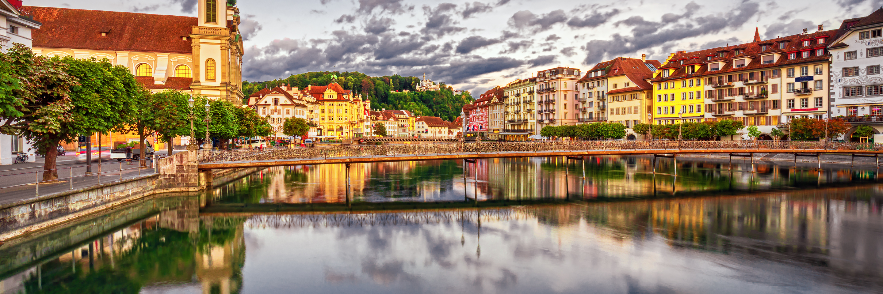 Festive Time on the Romantic Rhine with 2 Nights Lucerne (Northbound)