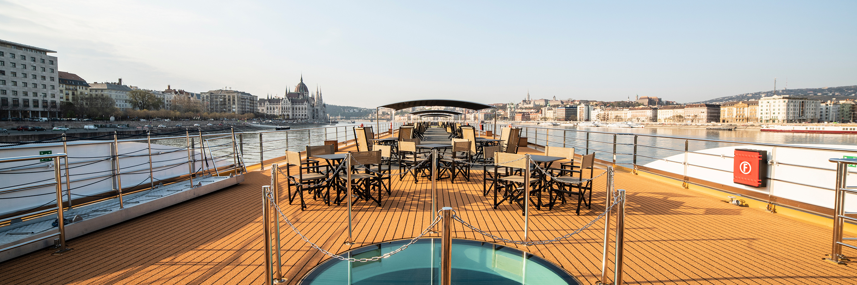 Skydeck in Budapest