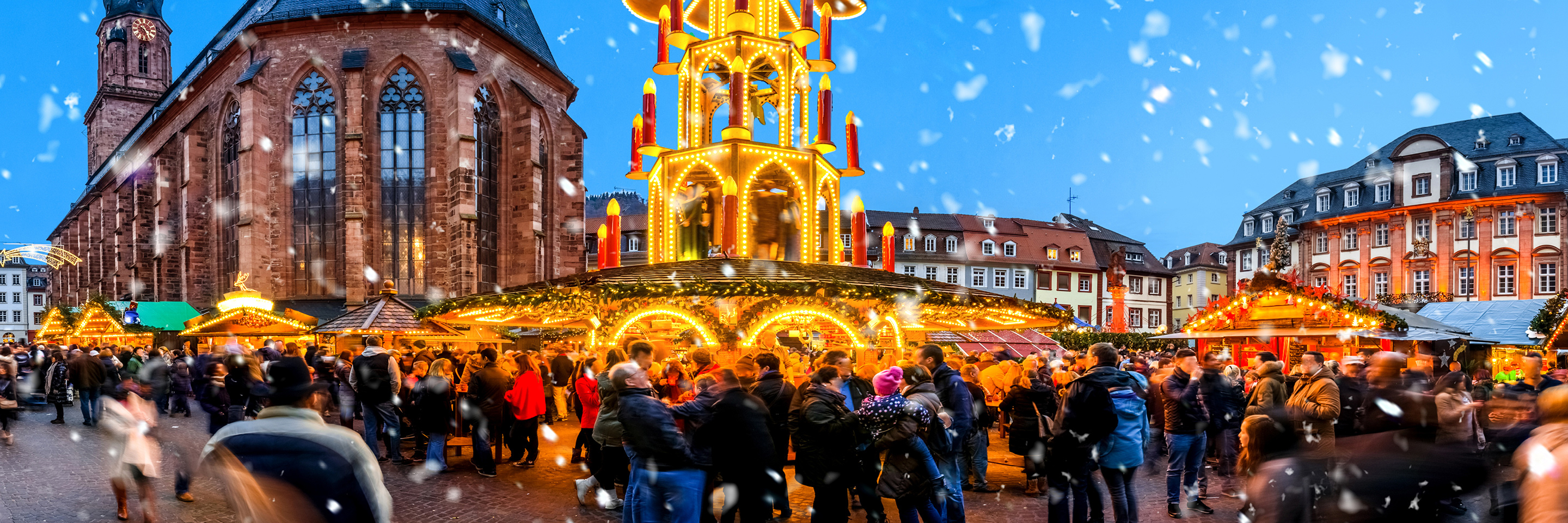 Christmastime in Alsace & Germany (Northbound)