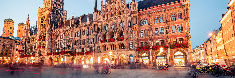 German Grandeur with 2 Nights in Munich  & 2 Nights in Lucerne (Westbound)