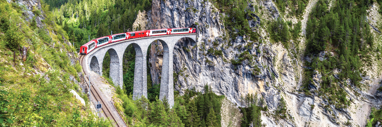 Scenic Switzerland by Train