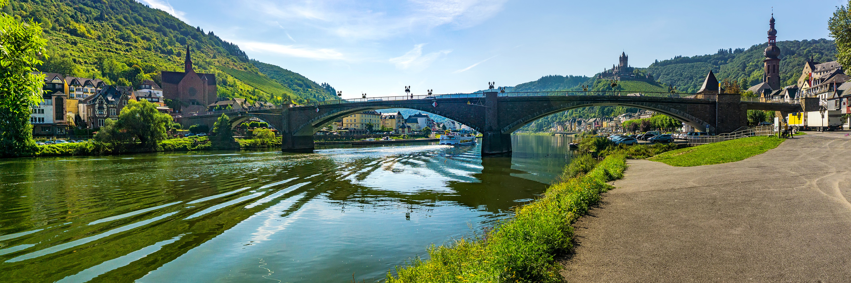 The Rhine & Moselle: Canals, Vineyards and Castles