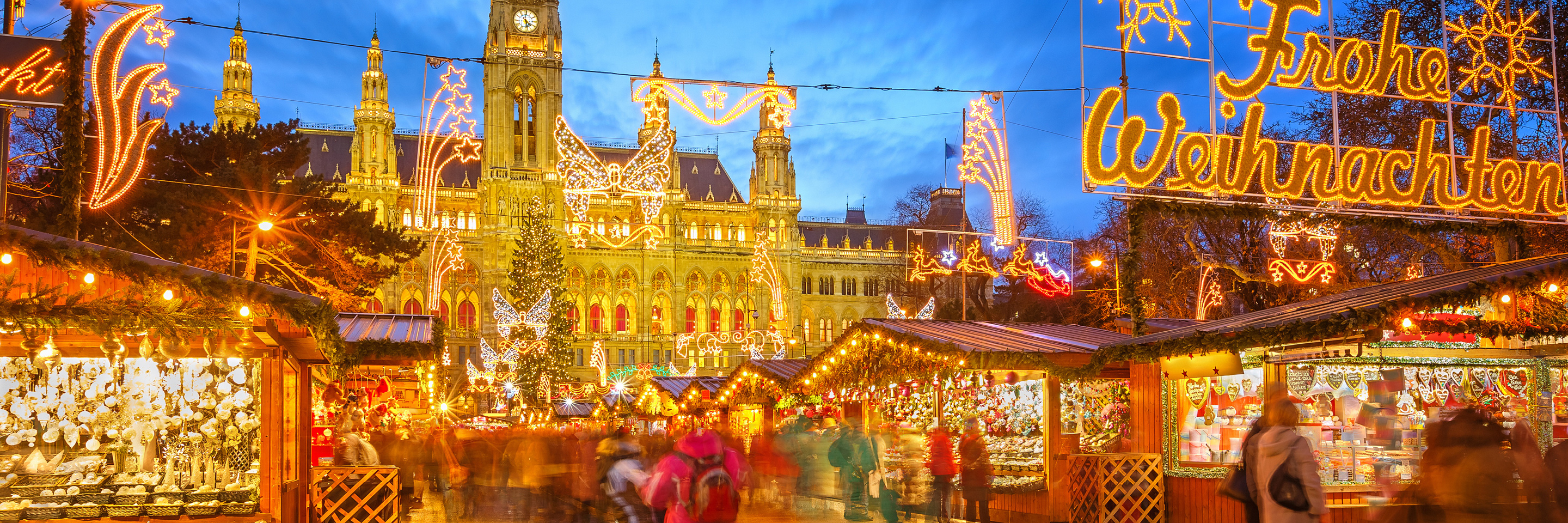 Christmastime from Vienna to Basel