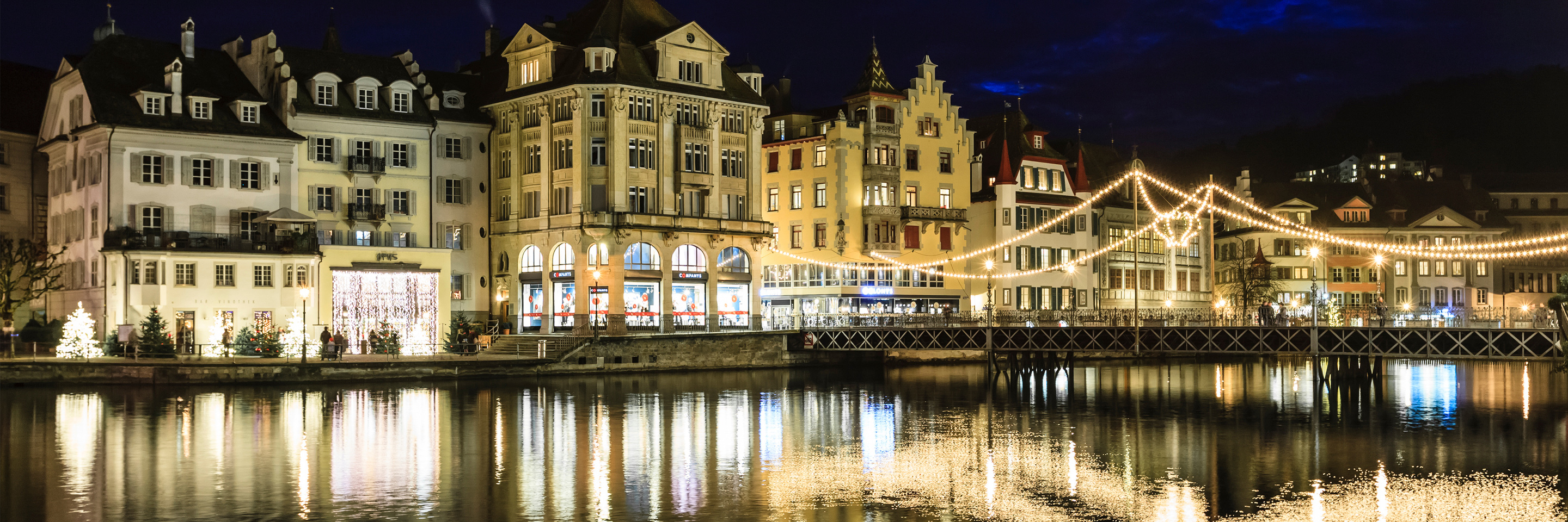 Festive Season on the Romantic Rhine with 2 Nights in Lucerne (Southbound)
