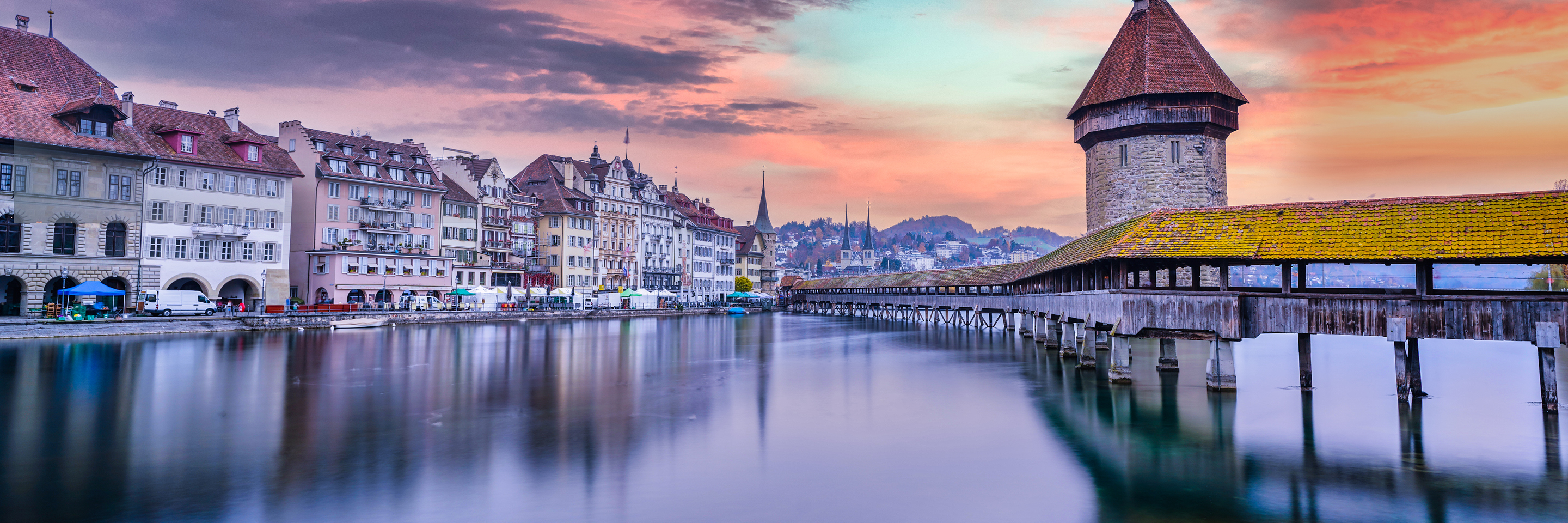 Festive Time on the Romantic Rhine with 2 Nights Lucerne, 2 Nights in Paris & 2 Nights in London (Northbound)