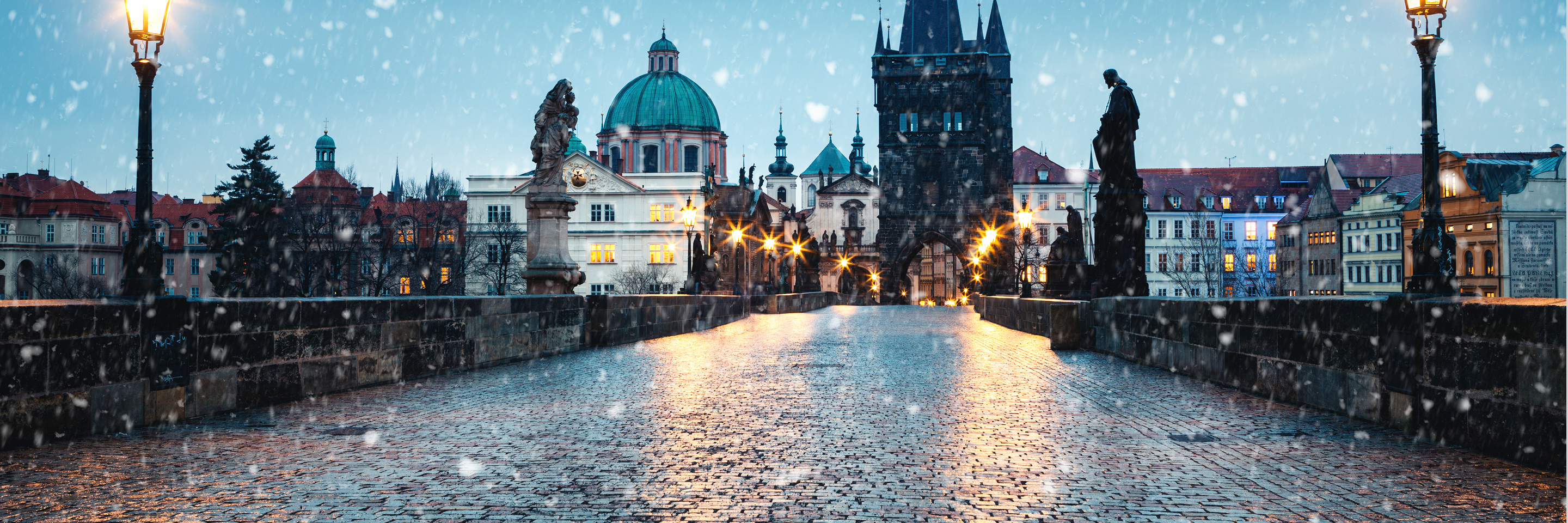 Christmastime from Nuremberg to Basel with 2 Nights in Prague