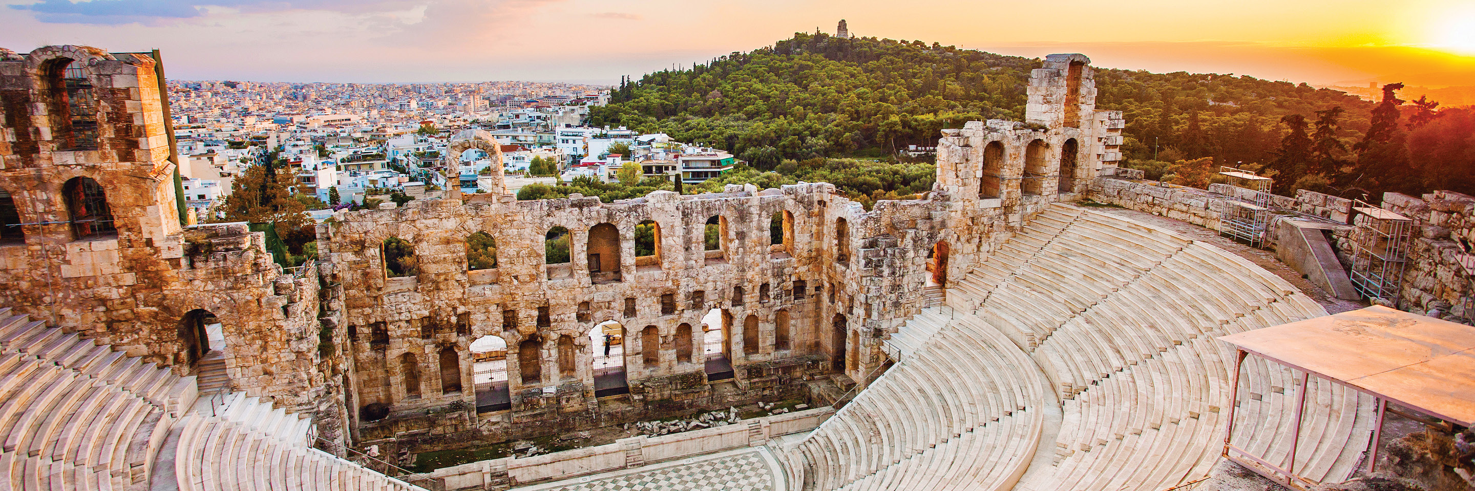 Athens Escape plus 7-night 3 Continents Cruise