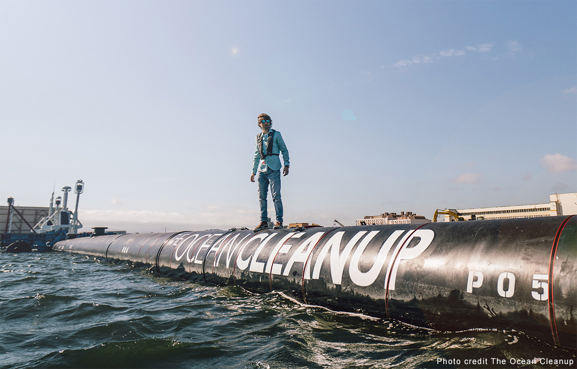 The Ocean Cleanup CEO, Boyan Slat