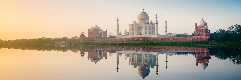 Taj Mahal guided Asia tours