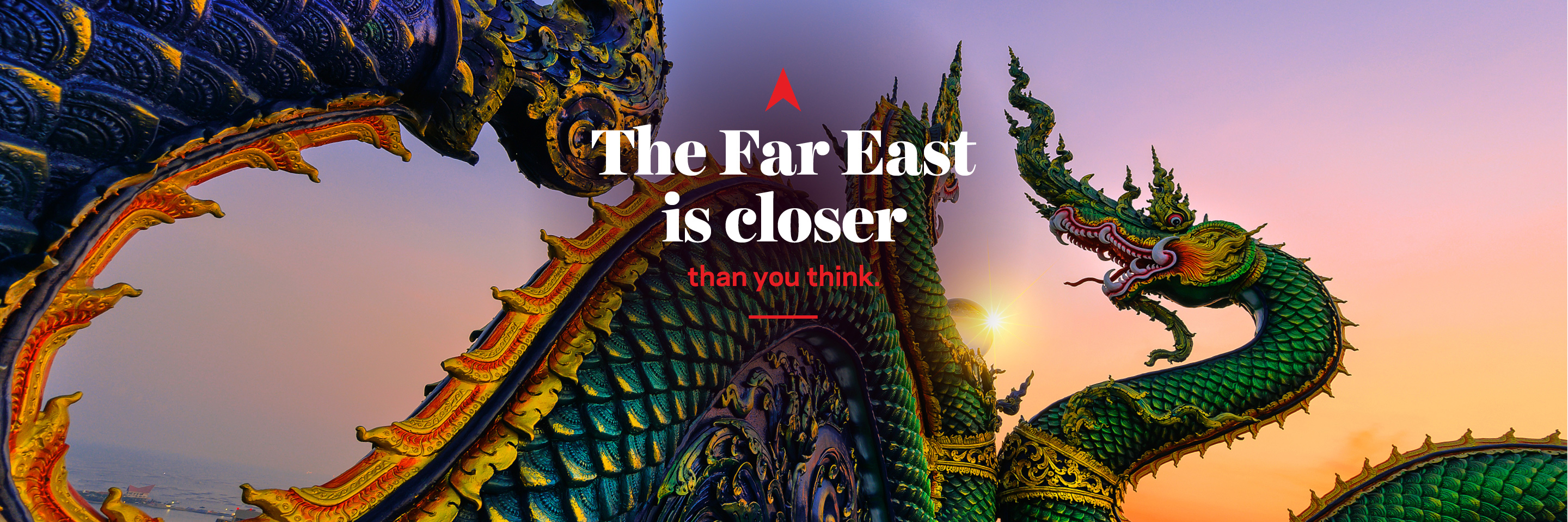 The Far East is closer than you think