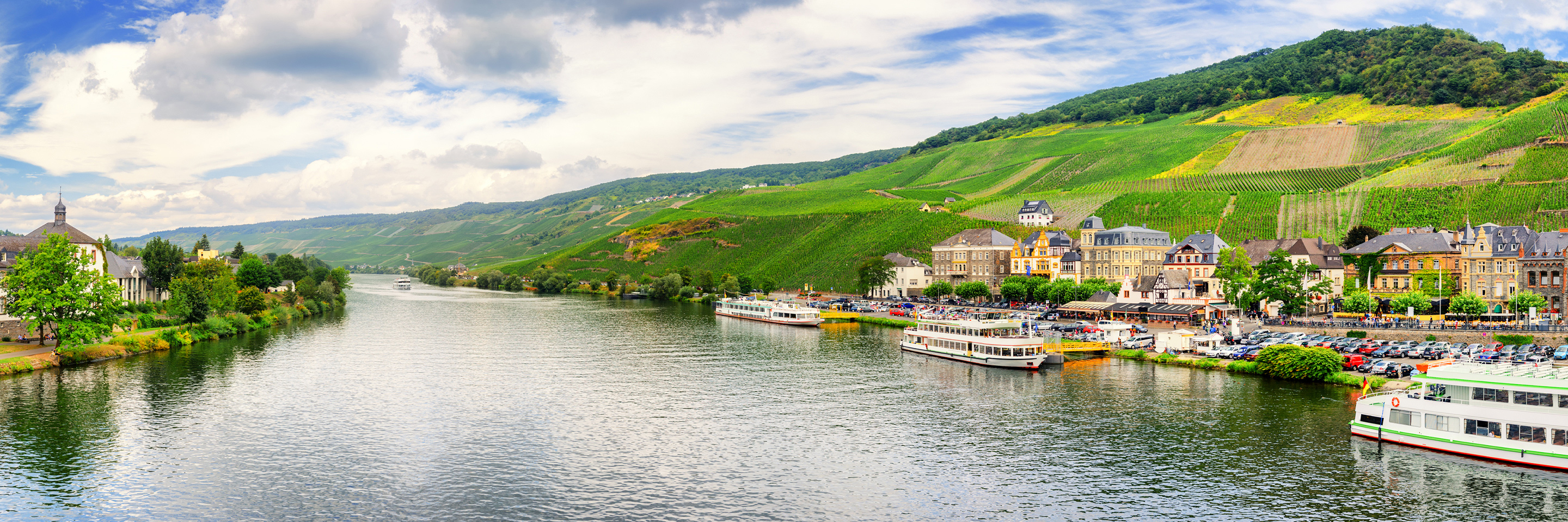 Once upon Three Rivers: the Rhine, Moselle & Main
