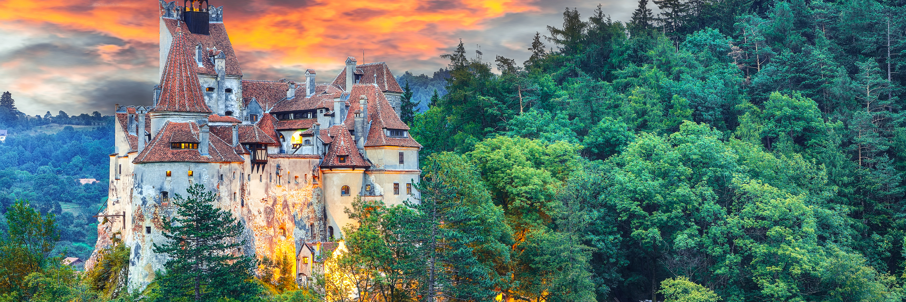 From the Balck Sea to the North Sea with 2 Nights in Transylvania