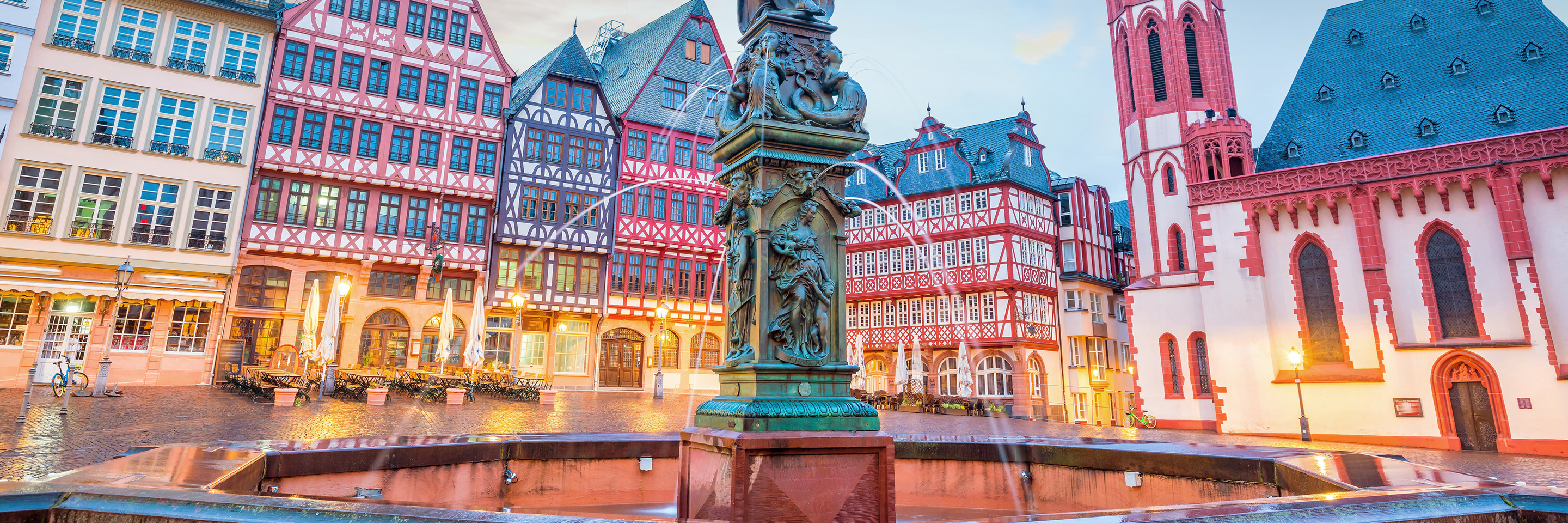 A Taste of the Rhine with 1 Night in  Amsterdam & 2 Nights in Frankfurt (Southbound)