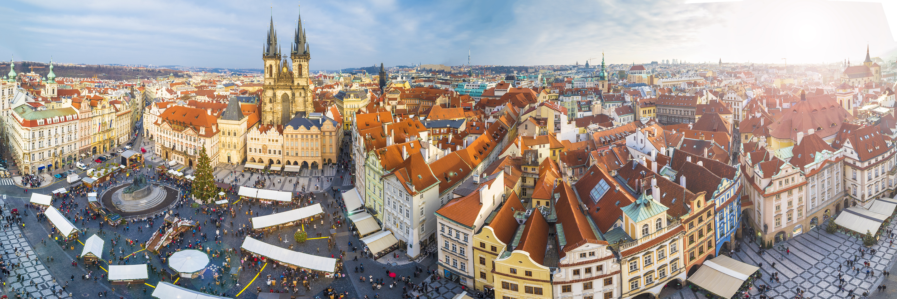 Christmastime on the Danube with 2 Nights in Prague   (Eastbound)