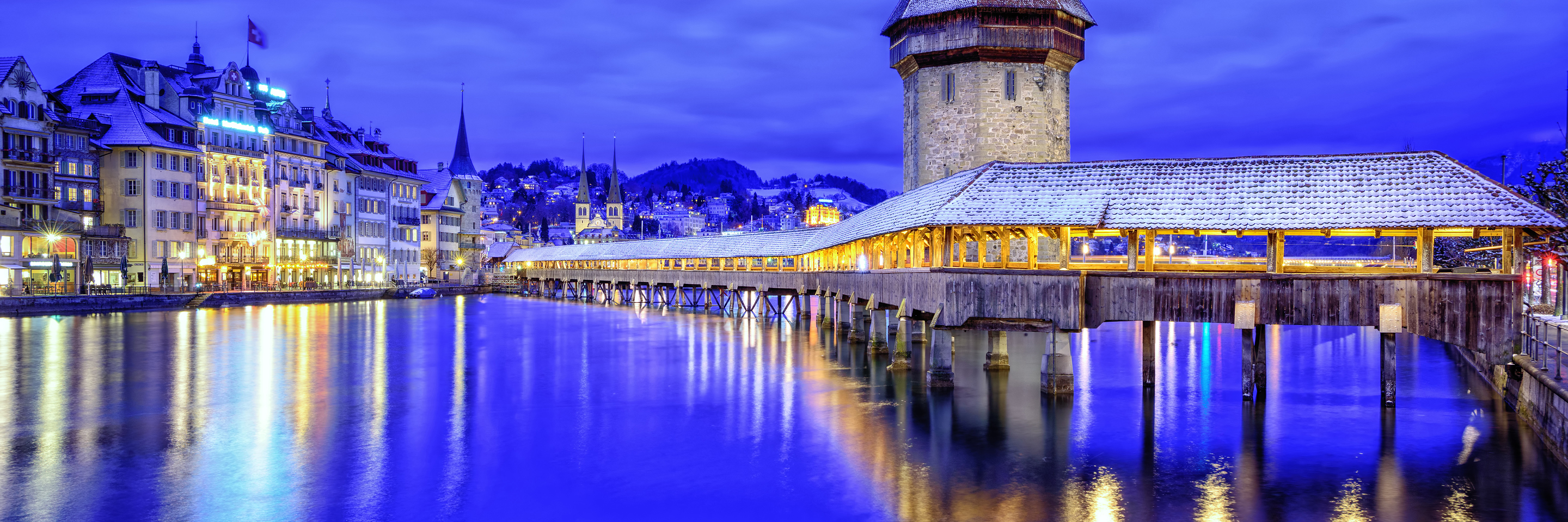 Festive Time on the Romantic   Rhine with Mount Pilatus, 1 Night in Lucerne & 3 Nights in Lake Como   (Southbound)
