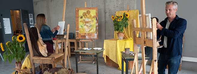 Painting Class in Amsterdam