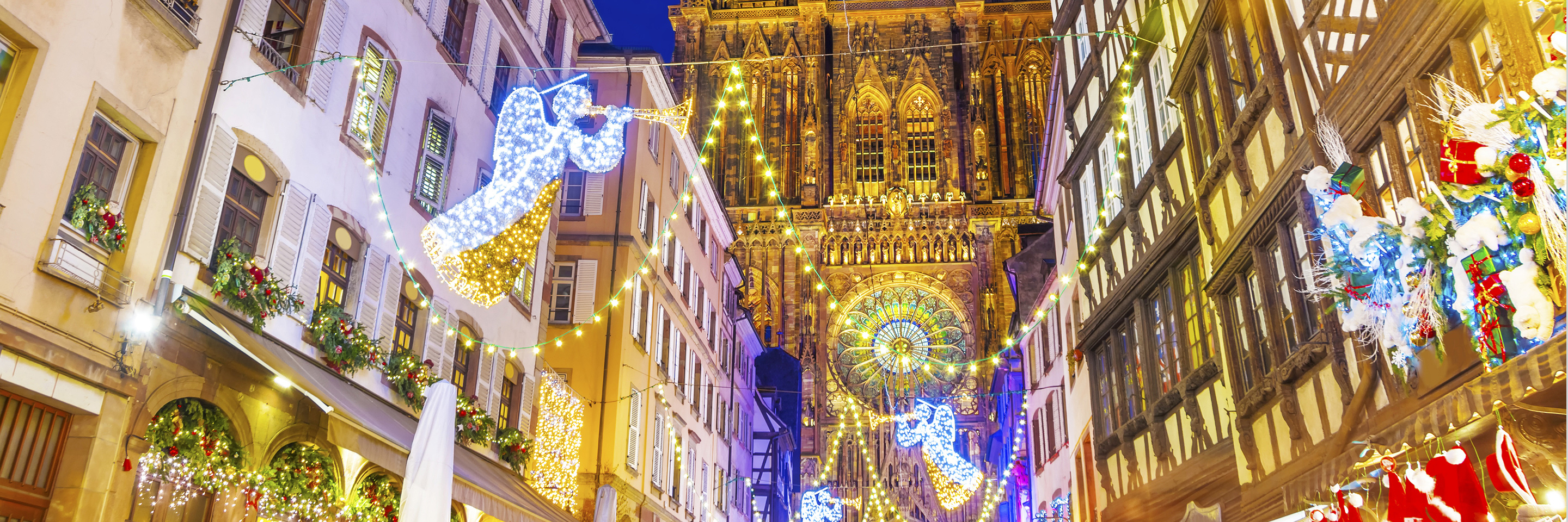 Christmastime from Nuremberg to Basel