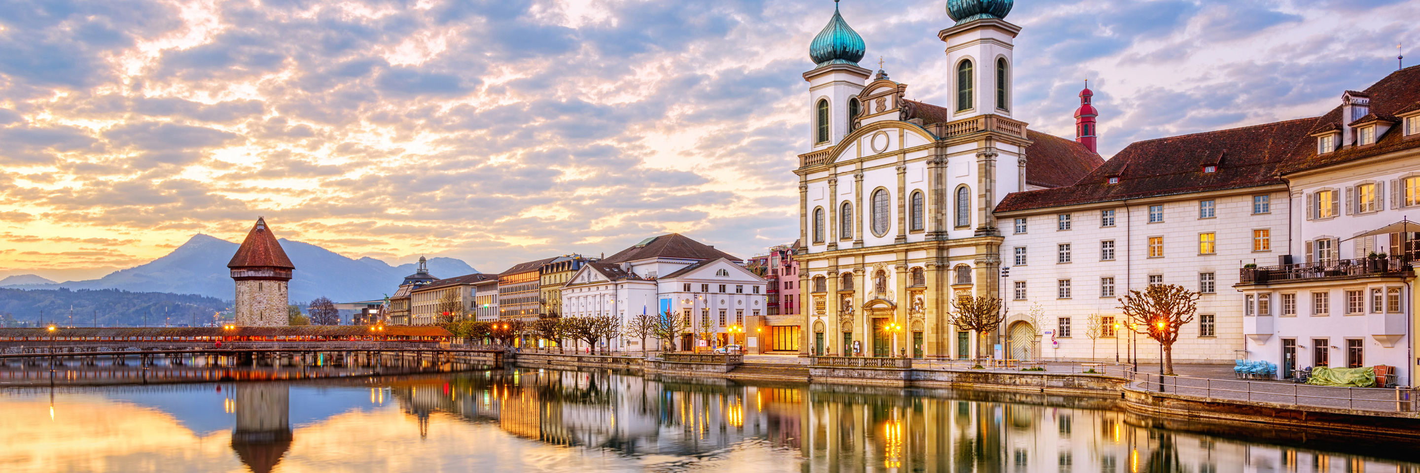 Enchanted Europe with 2 Nights in  Lucerne (Westbound)