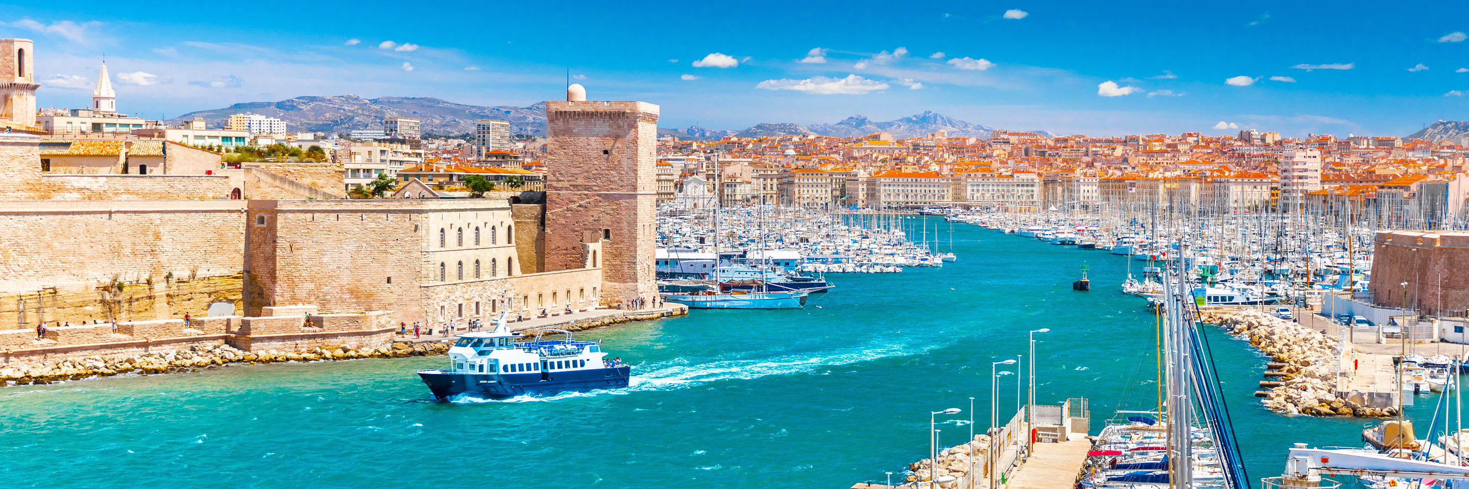 Burgundy & Provence with 1 Night in Marseille (Northbound)