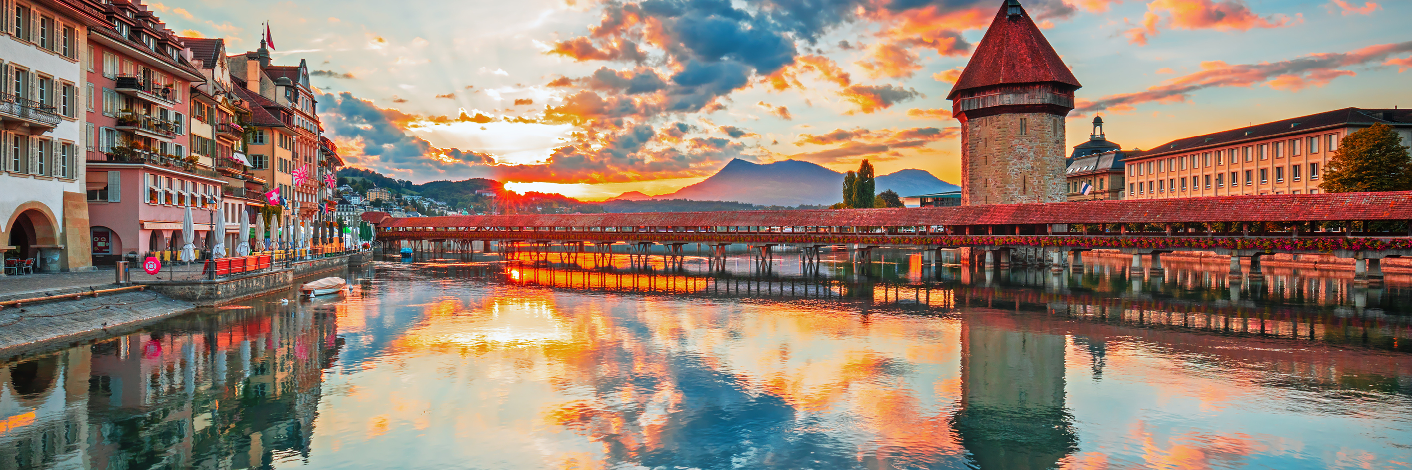Romantic Rhine with 2 Nights in Lucerne, 2 Nights in Paris   & 2 Nights in London (Northbound)